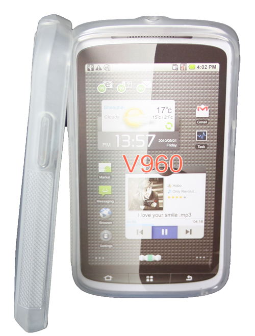Silikon-Case-fuer-ZTE-Skate-V960-Base-Lutea-2-in-transparent-Silicon-Skin-clear